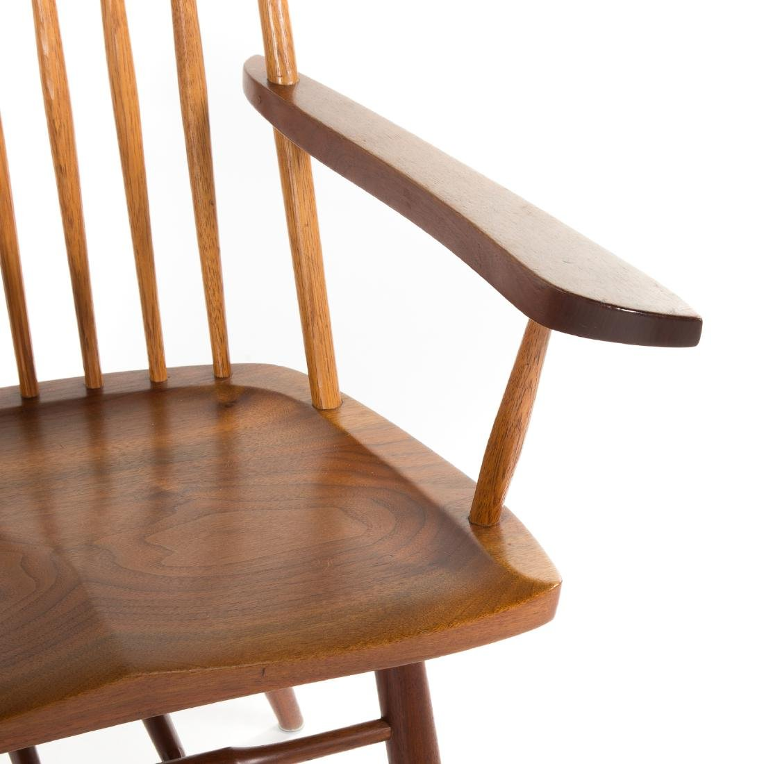 Set of Eight George Nakashima New Dining Chairs - 5