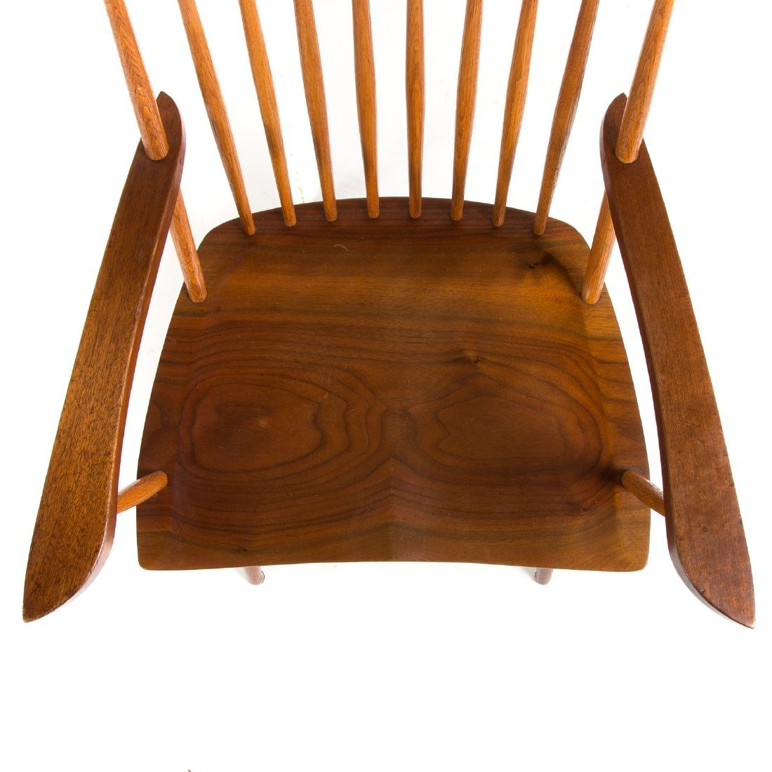 Set of Eight George Nakashima New Dining Chairs - 7