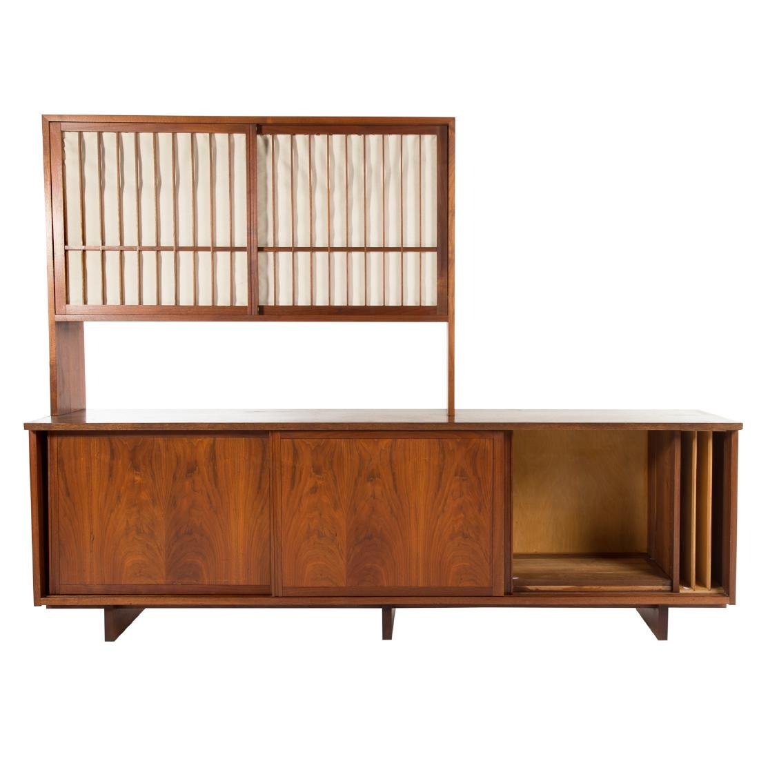 George Nakashima Triple Cabinet With Top Piece - 3