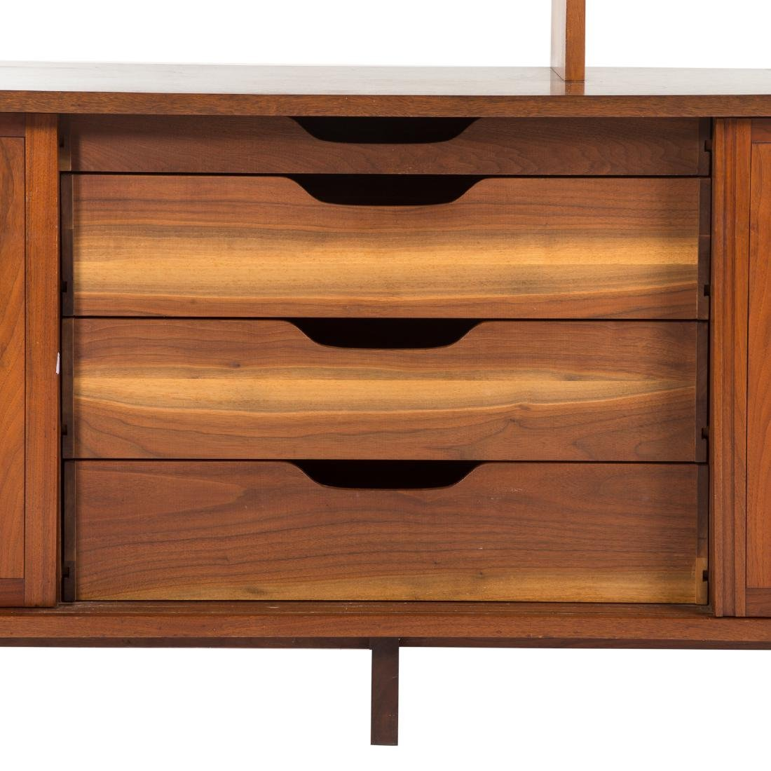 George Nakashima Triple Cabinet With Top Piece - 6