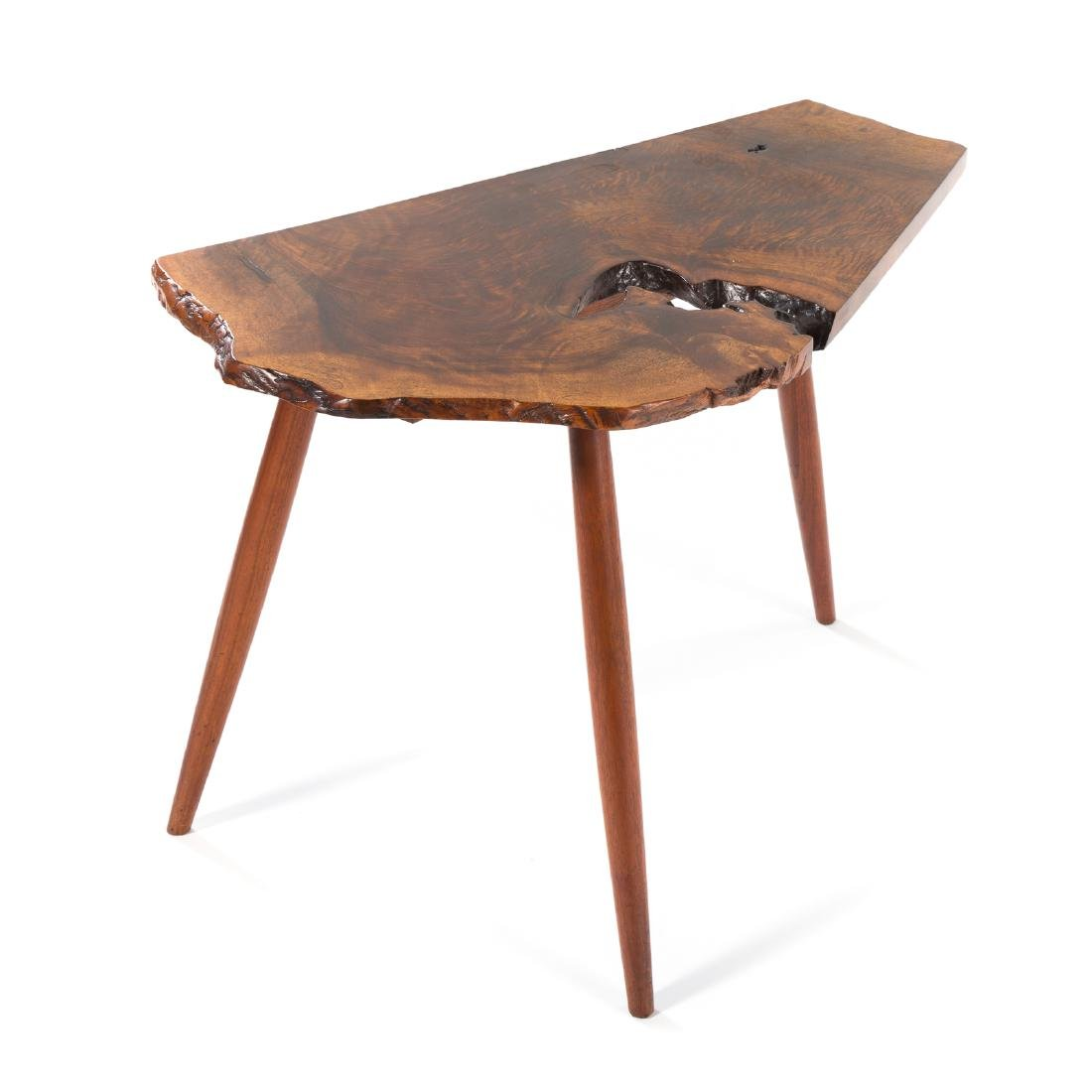 George Nakashima Slab Side Table