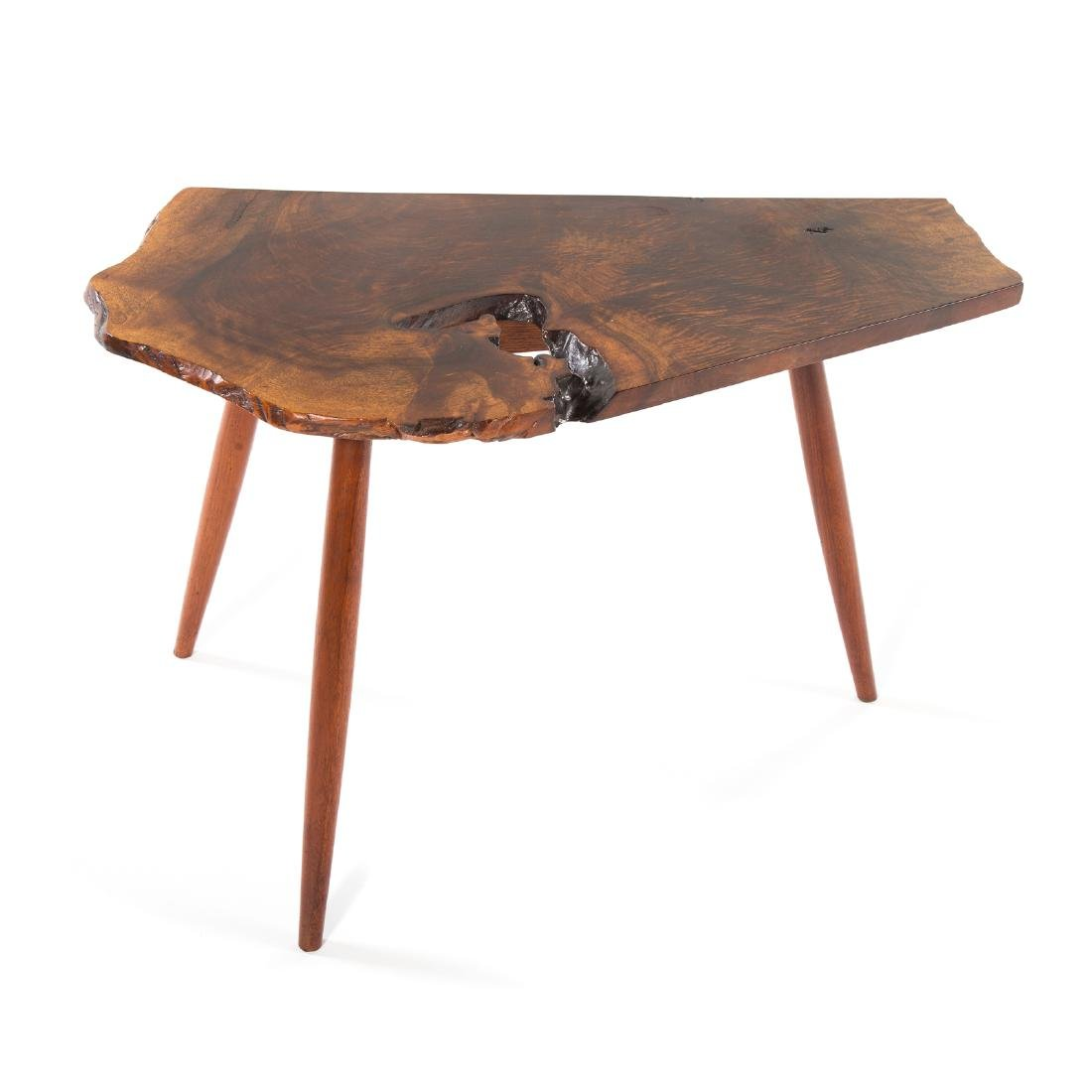 George Nakashima Slab Side Table - 2