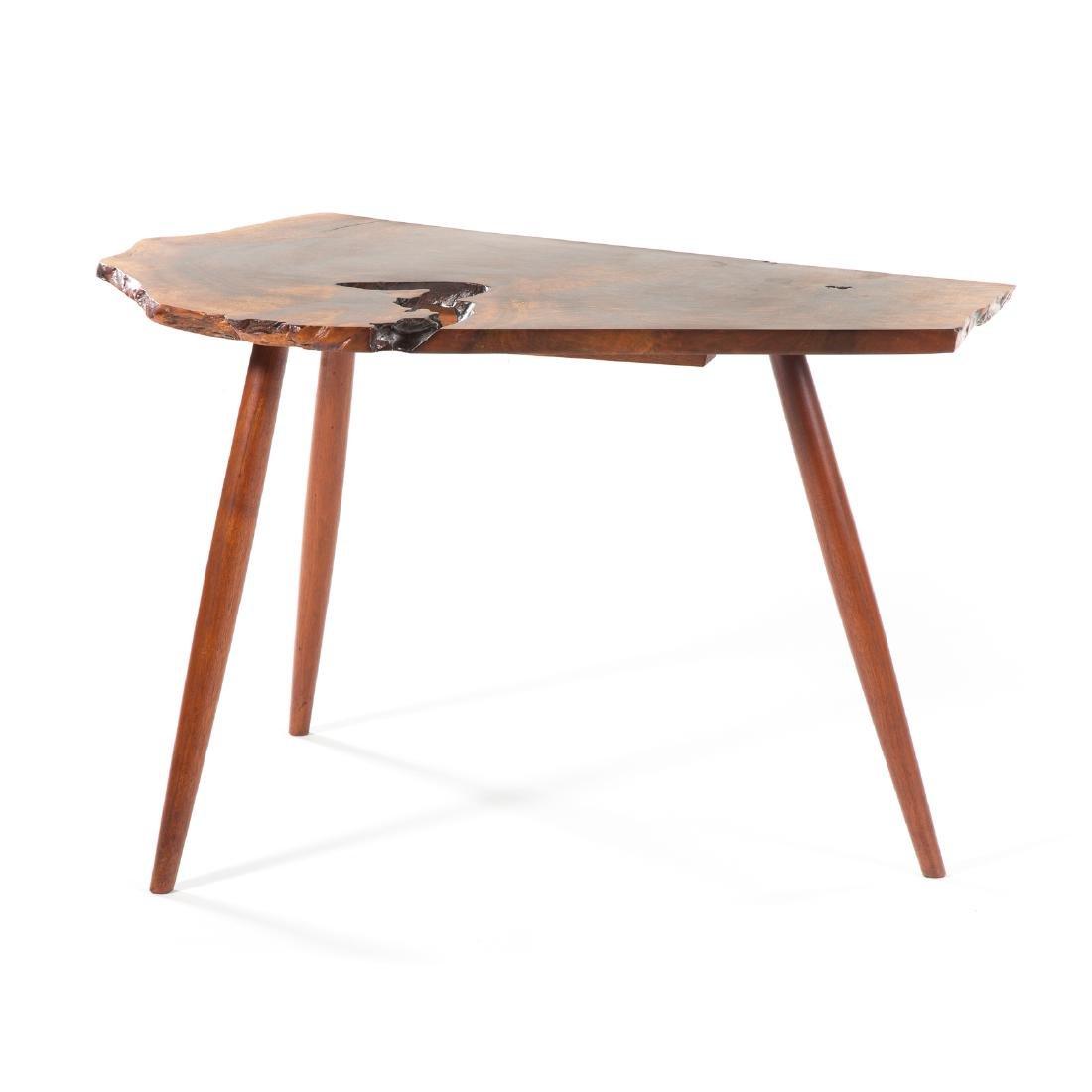 George Nakashima Slab Side Table - 4