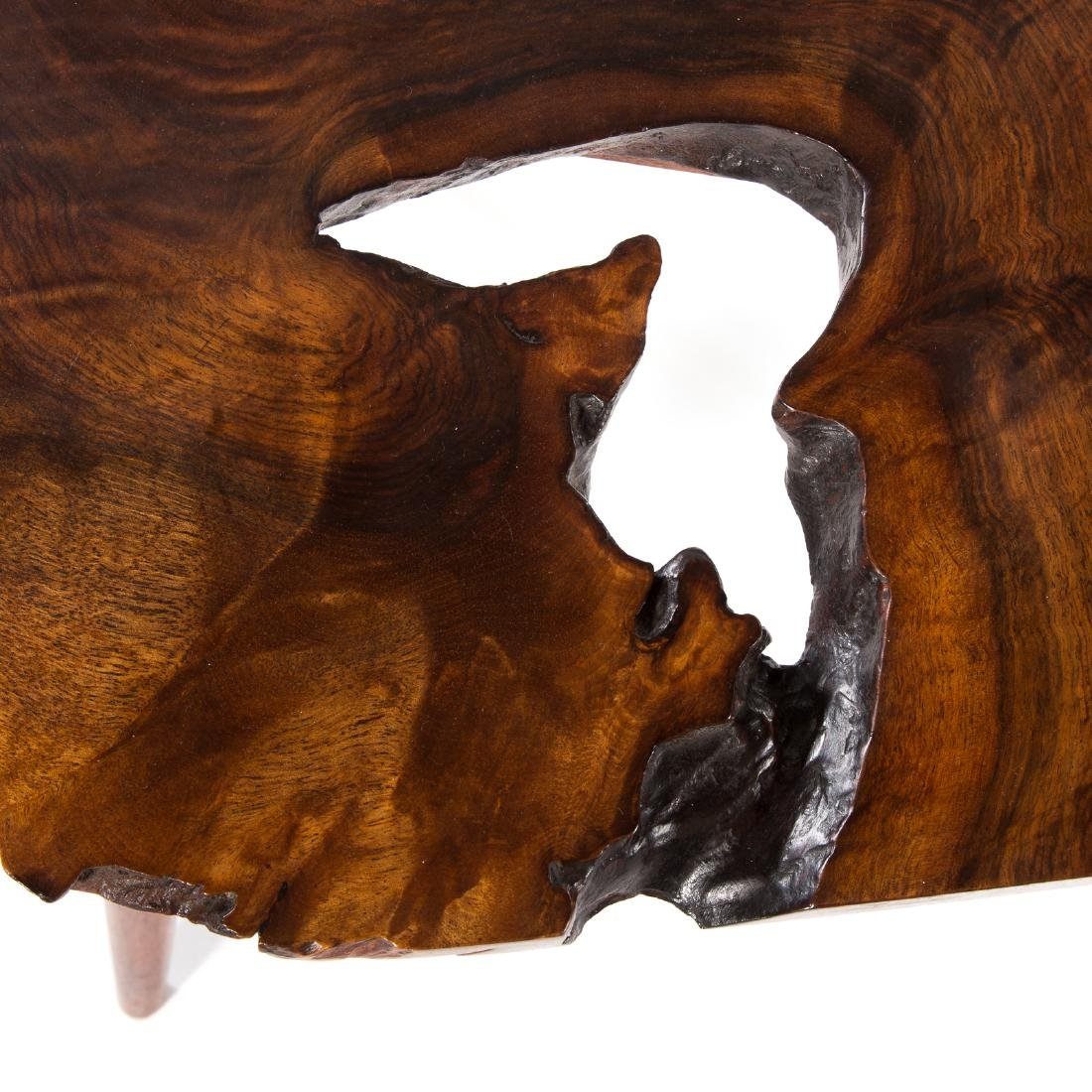 George Nakashima Slab Side Table - 6