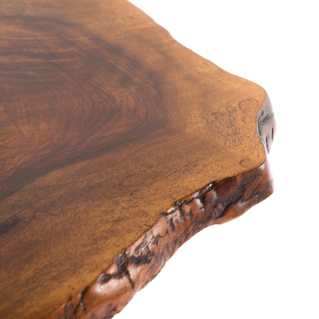 George Nakashima Slab Side Table - 7
