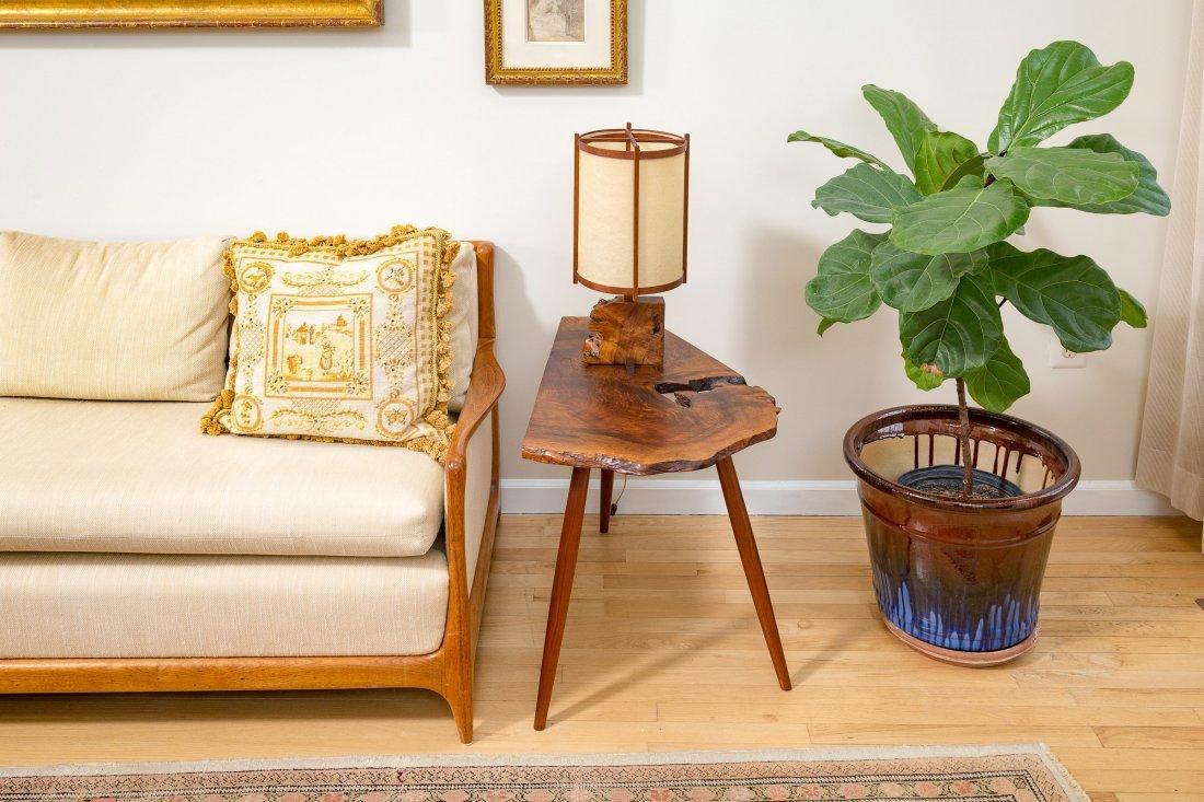 George Nakashima Slab Side Table - 8