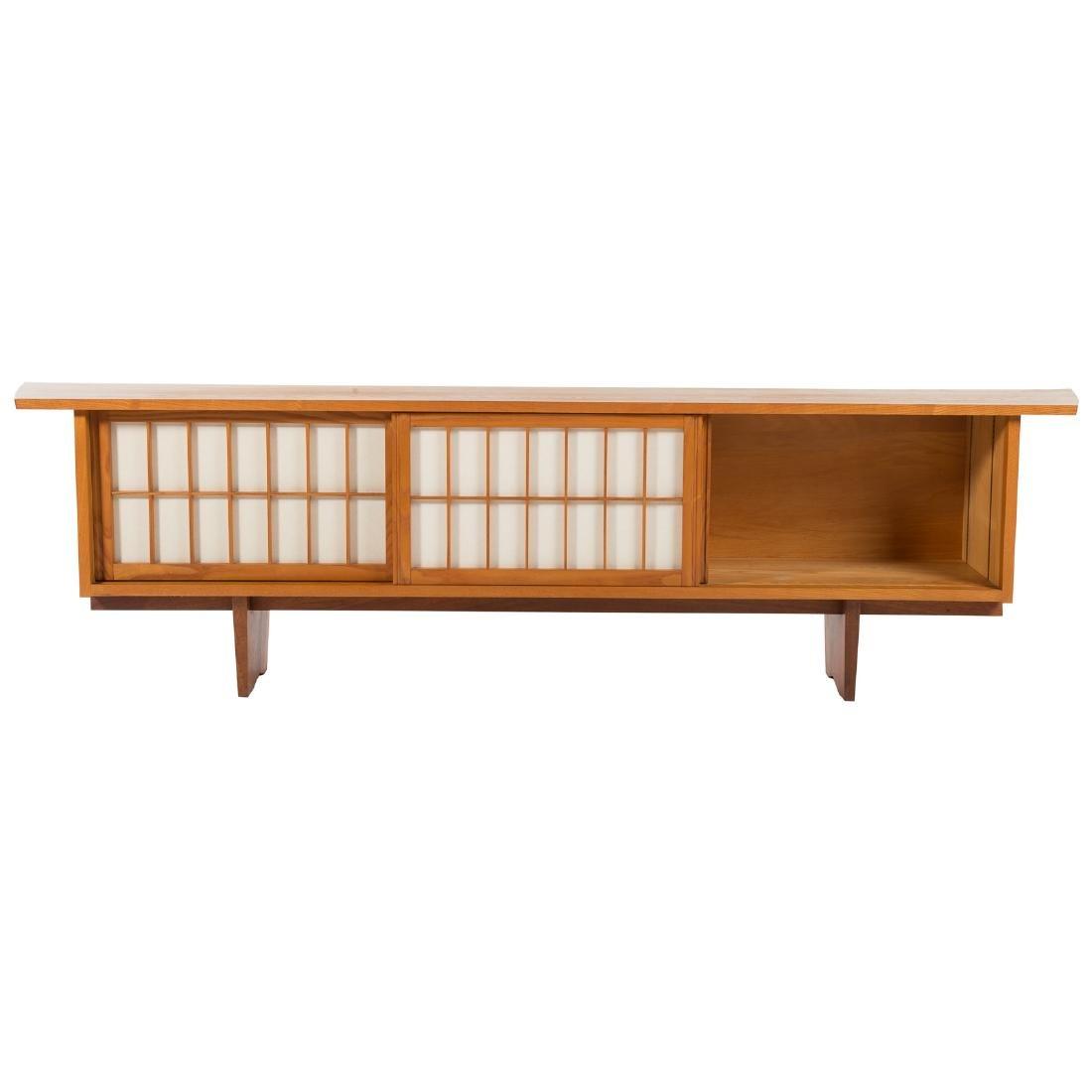 George Nakashima Triple Cabinet - 3