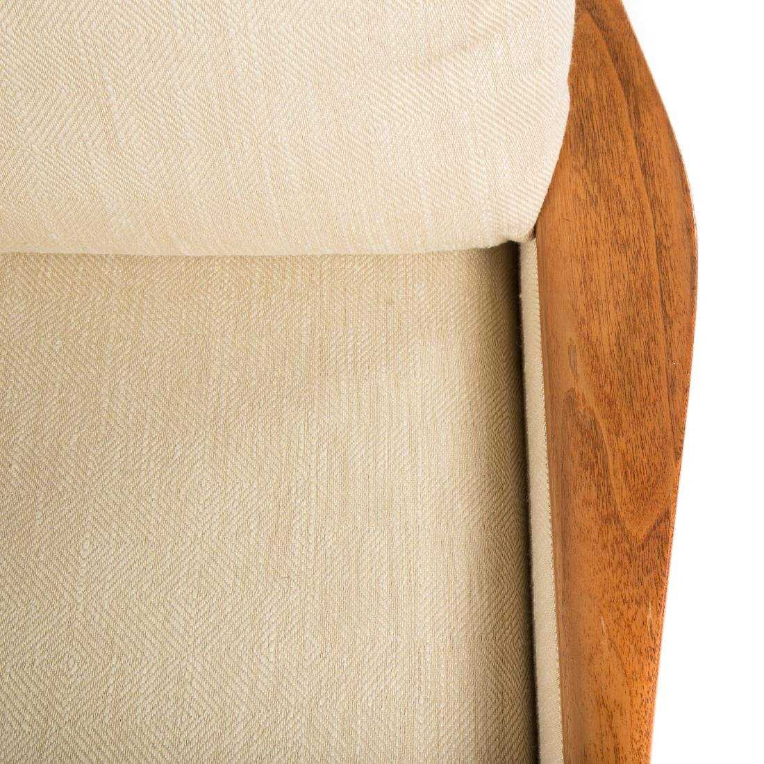 Vladimir Kagan - Dreyfuss walnut upholstered sofa - 5
