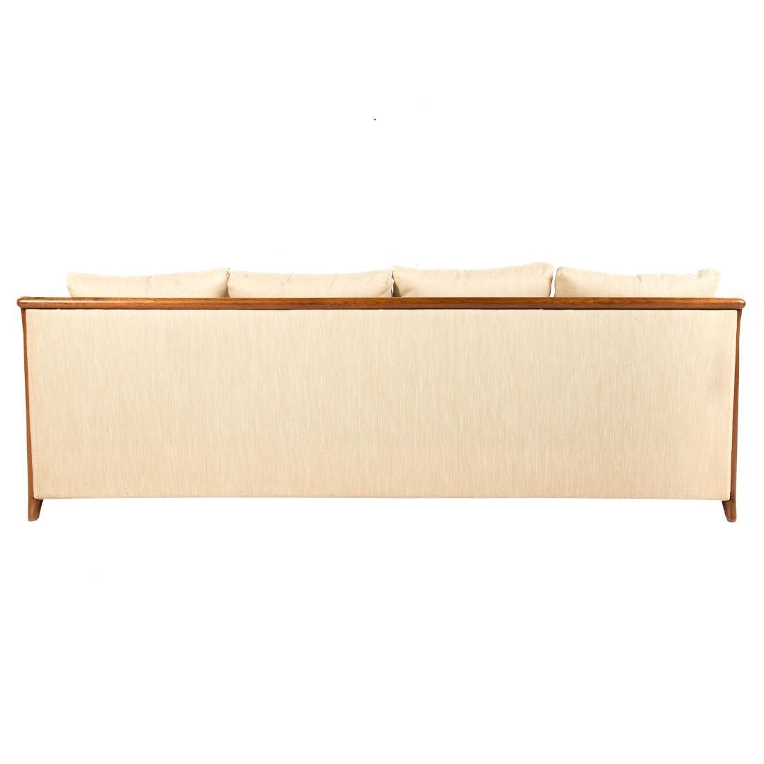 Vladimir Kagan - Dreyfuss walnut upholstered sofa - 7