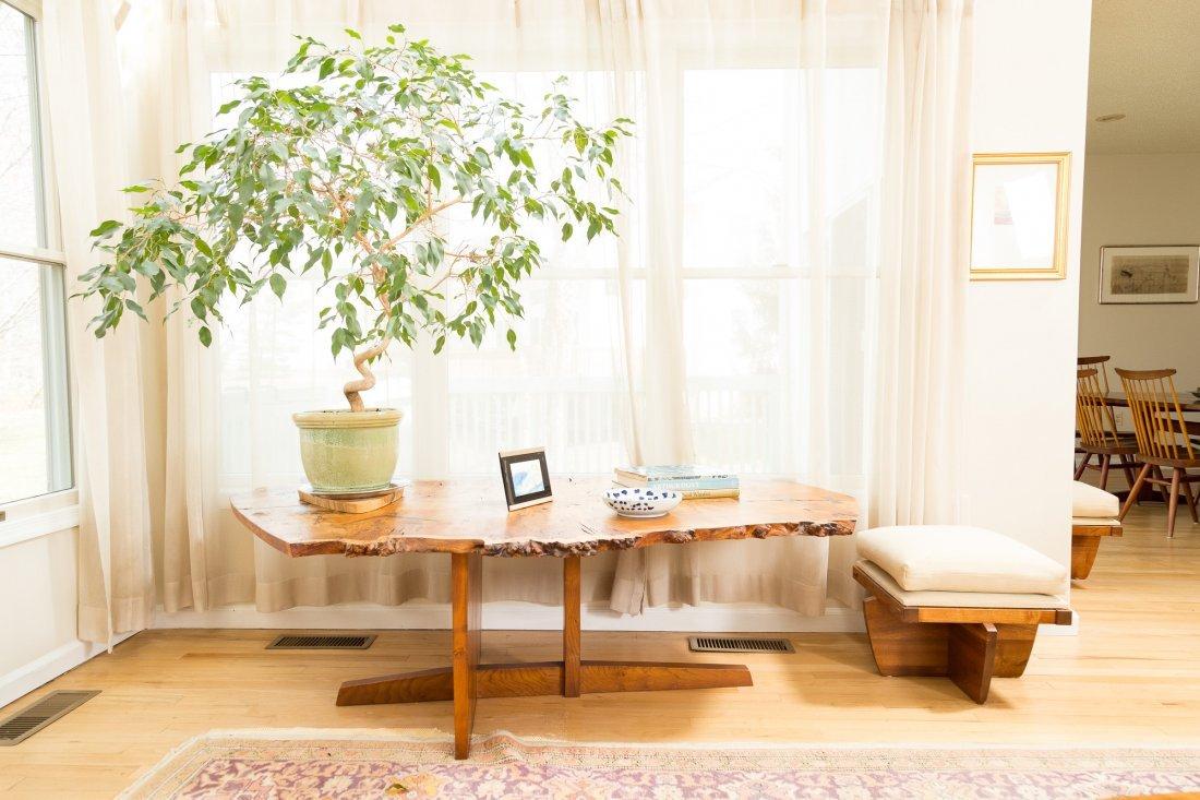 George Nakashima Important Minguren I Coffee Table - 9