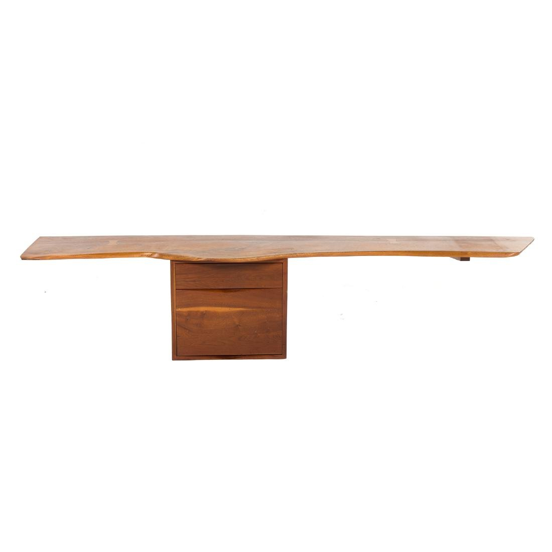 Phillip Lloyd Powell Wall-Mounted Desk and Shelves - 2