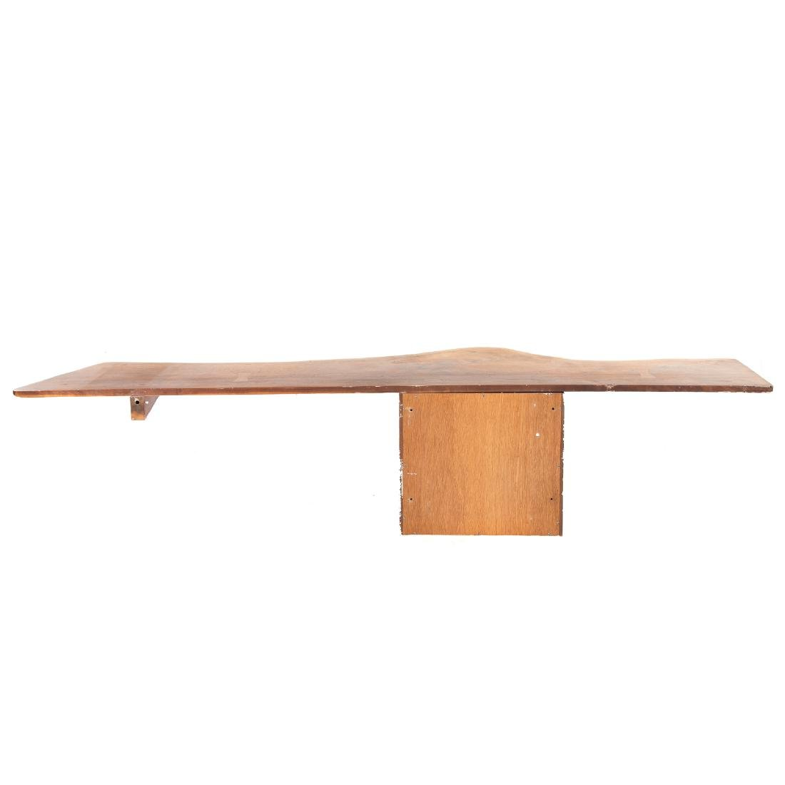 Phillip Lloyd Powell Wall-Mounted Desk and Shelves - 8