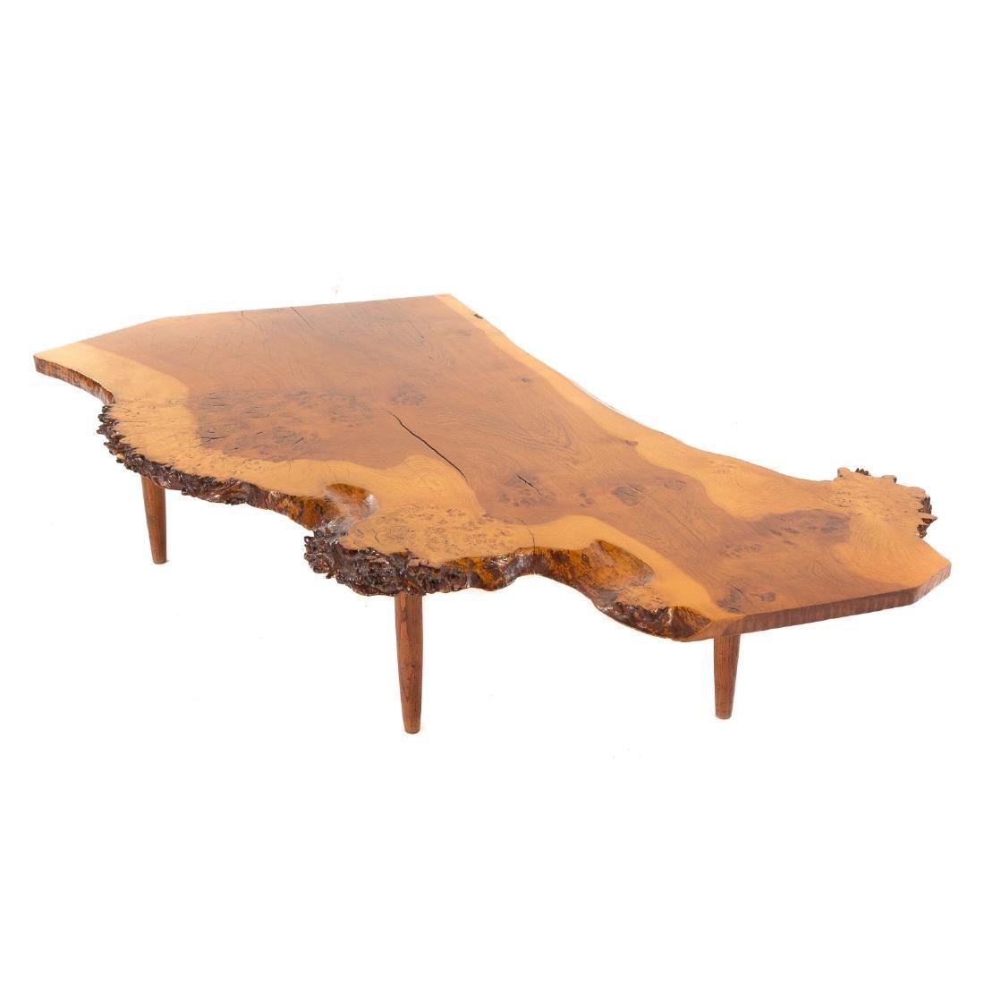 George Nakashima Slab Coffee Table - 3