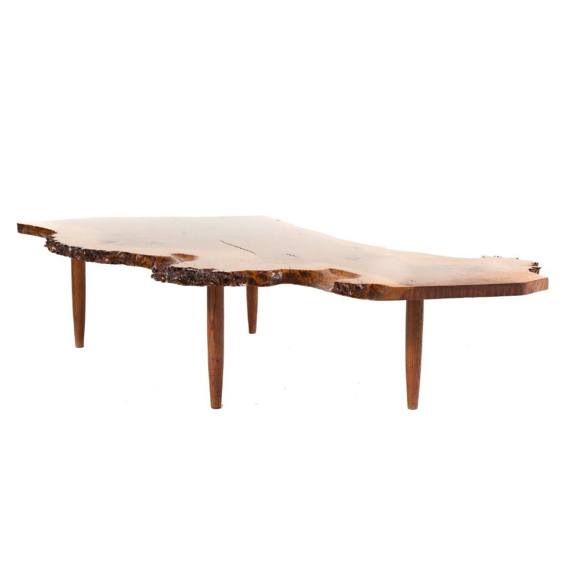 George Nakashima Slab Coffee Table - 5