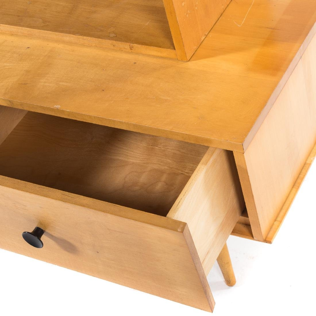 Mid Century Modern maple bookcase - 2