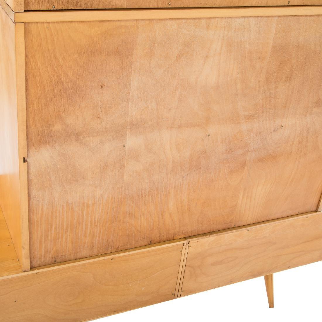 Mid Century Modern maple bookcase - 3