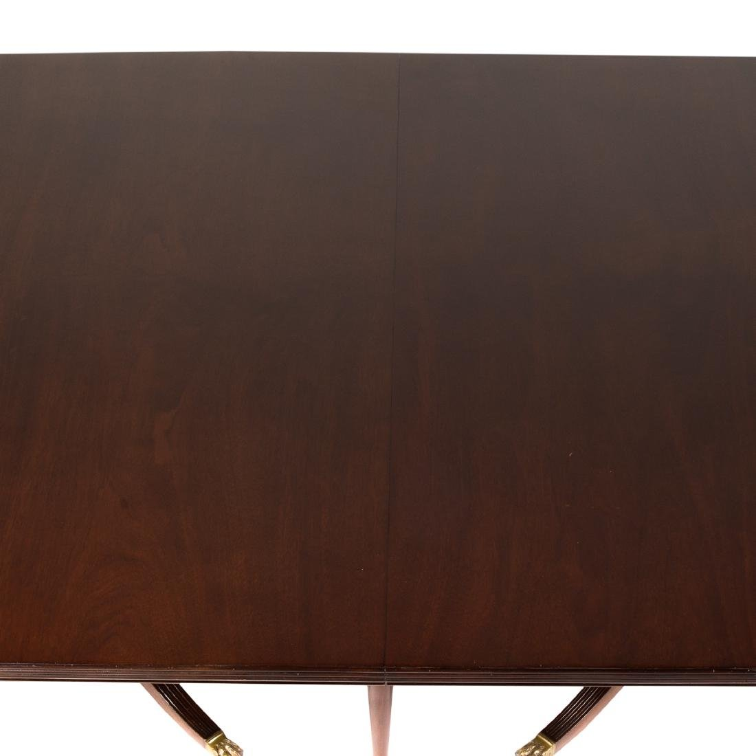 George III style mahogany dining table - 2