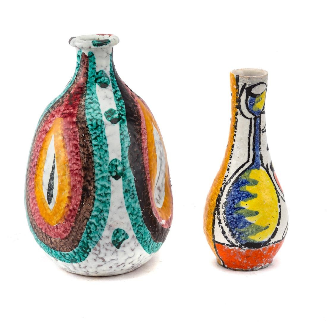 Two Italian ceramic vases - 2