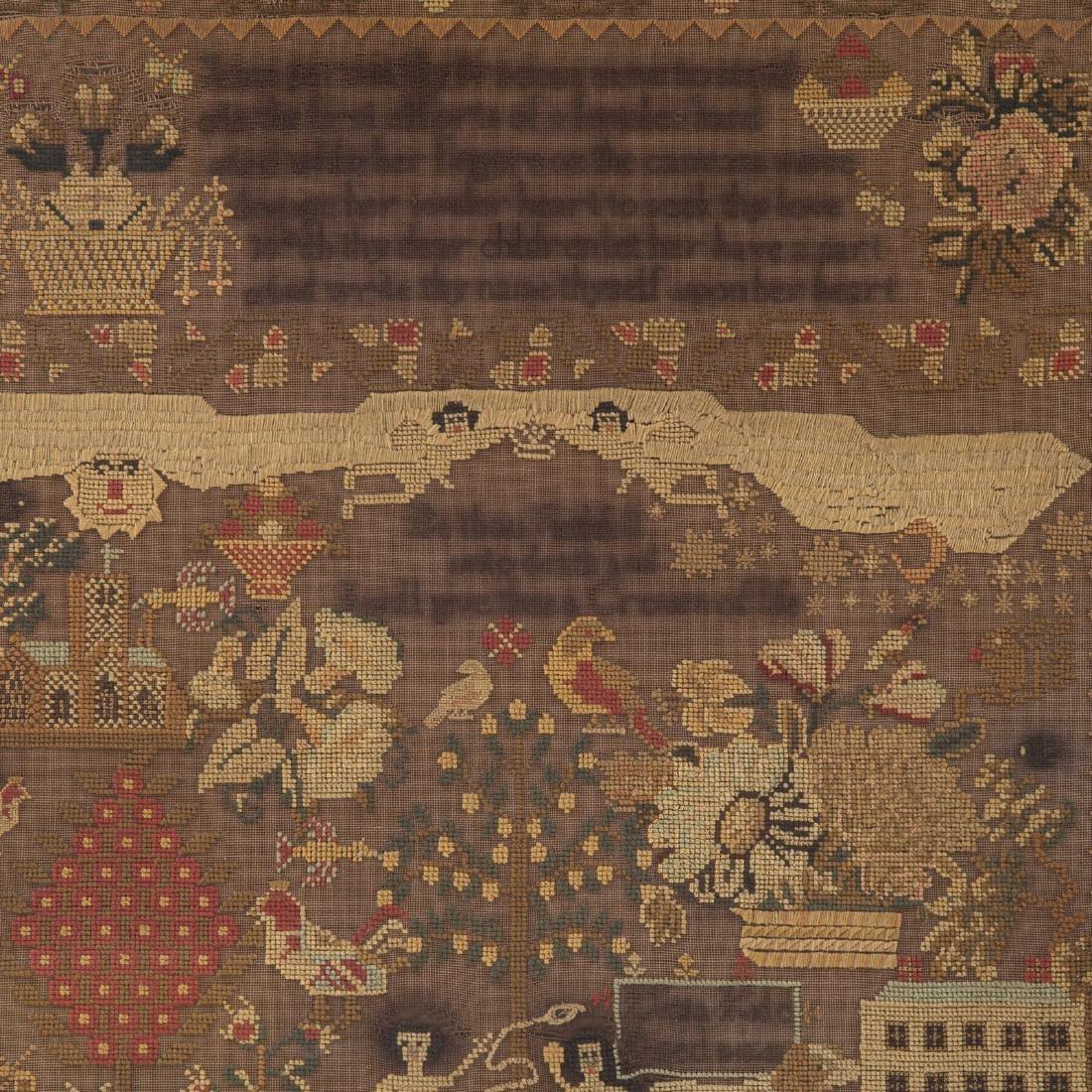 Eliza Kidd needlework sampler - 2