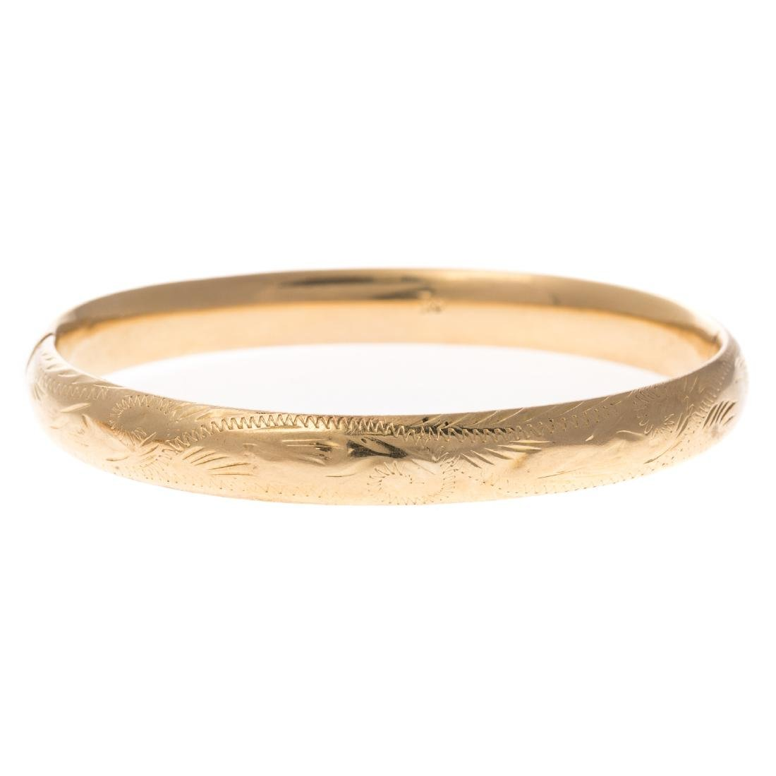 Two Lady's Bracelets in 14K Gold - 6