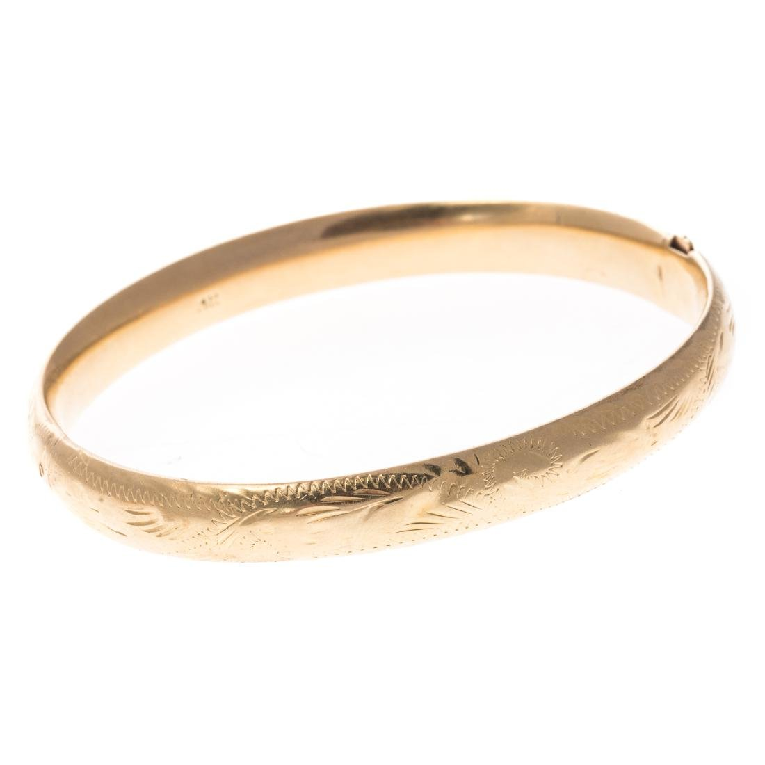 Two Lady's Bracelets in 14K Gold - 8
