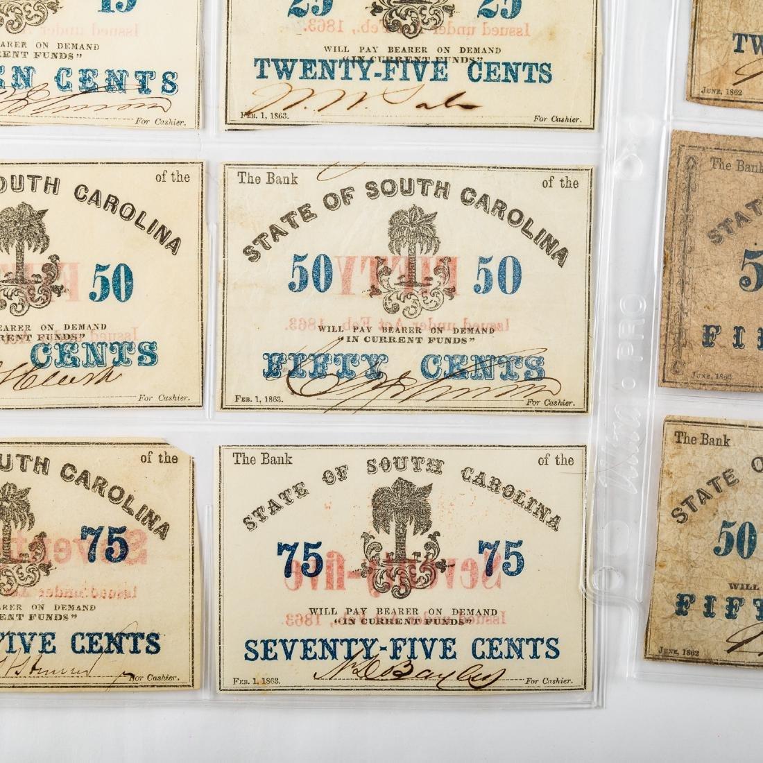 [US] 15 South Carolina Civil War Fractionals - 3