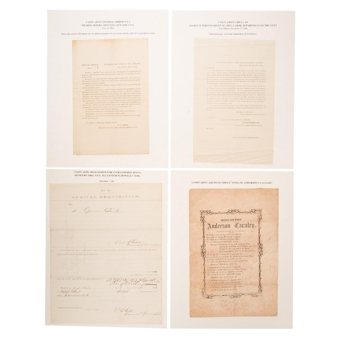 [US] Three Interesting Union Army documents