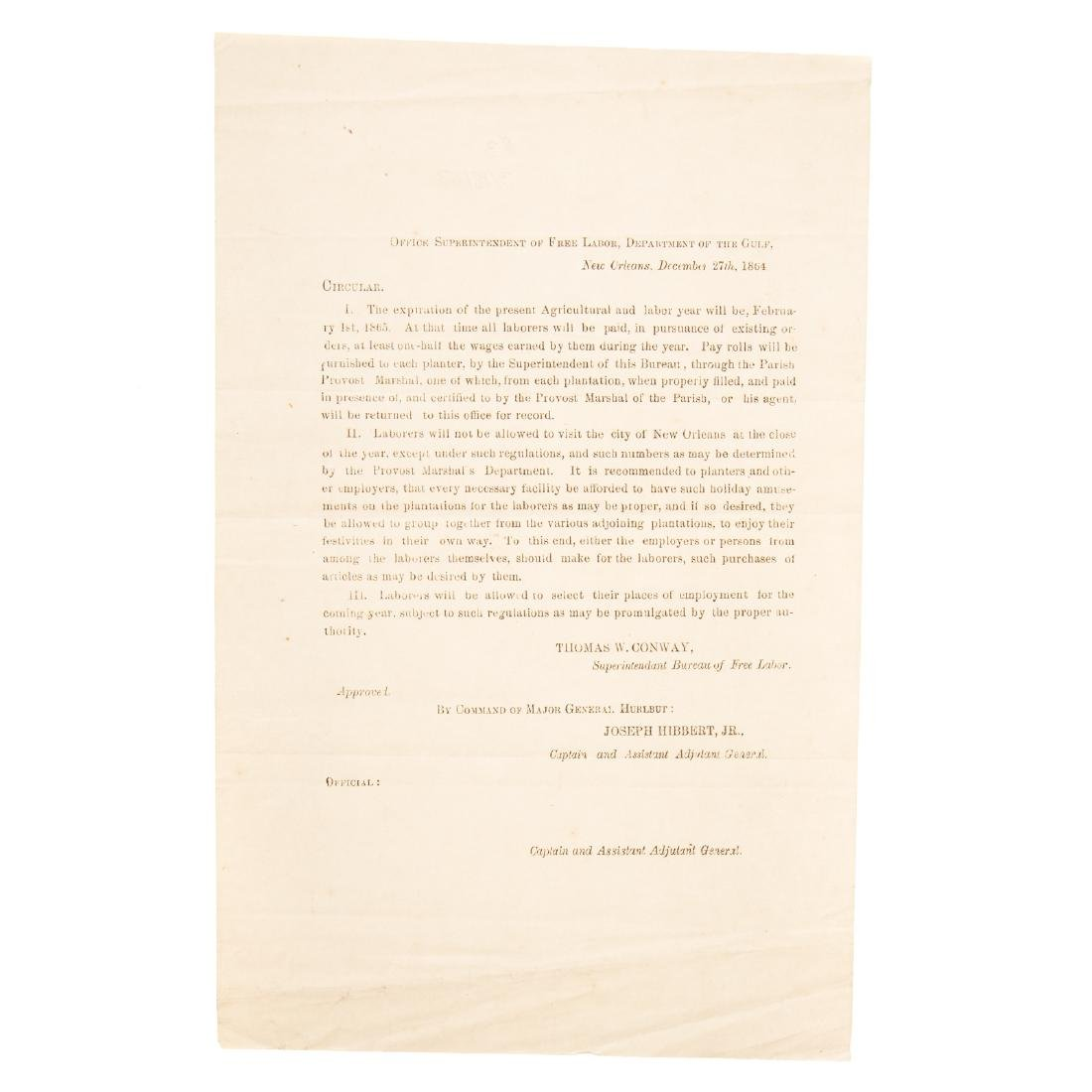 [US] Three Interesting Union Army documents - 2