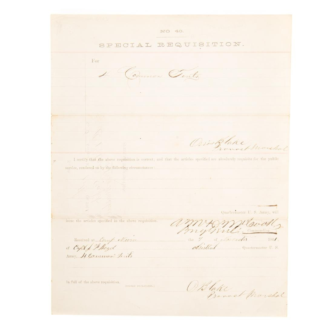 [US] Three Interesting Union Army documents - 5