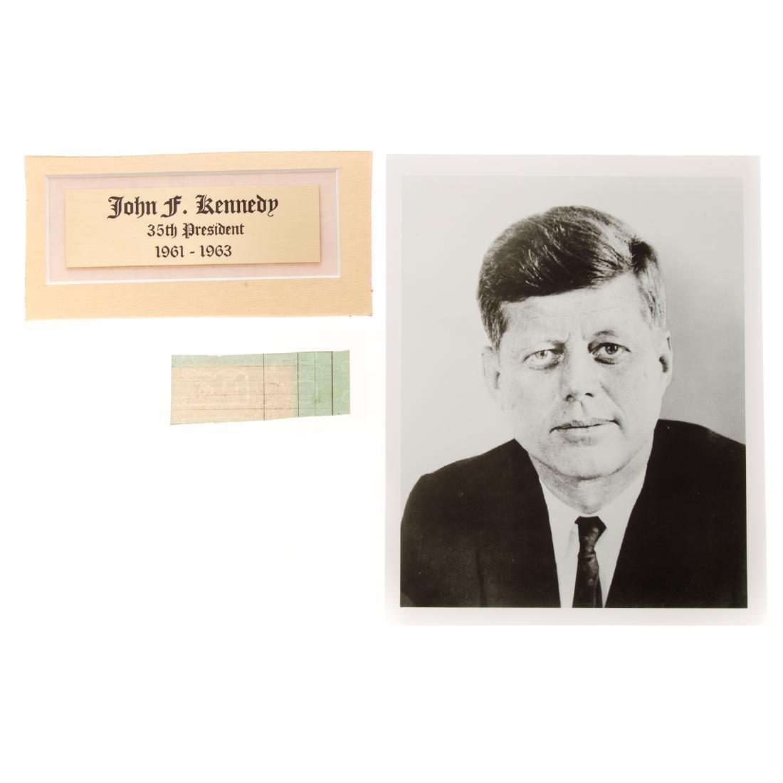 John F. Kennedy signature