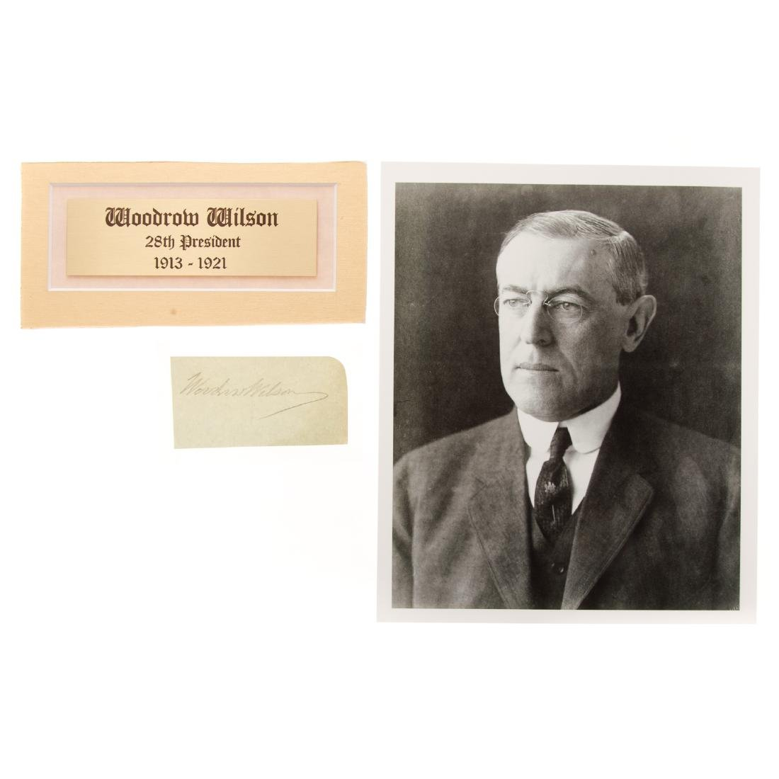 Thomas Woodrow Wilson signature