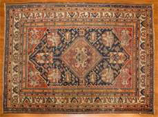 Antique Afshar rug approx 410 x 64