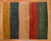Persian Gabbeh rug, approx. 3.6 x 4.2