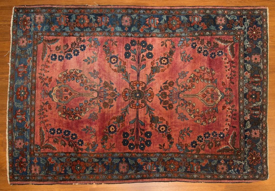 Antique Sarouk rug, approx. 3.2 x 4.7