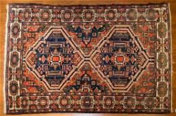 Antique Bahktiari rug, approx. 4.3 x 7