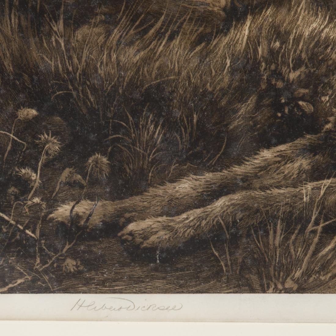 Herbert Thomas Dicksee. Two framed etchings - 4