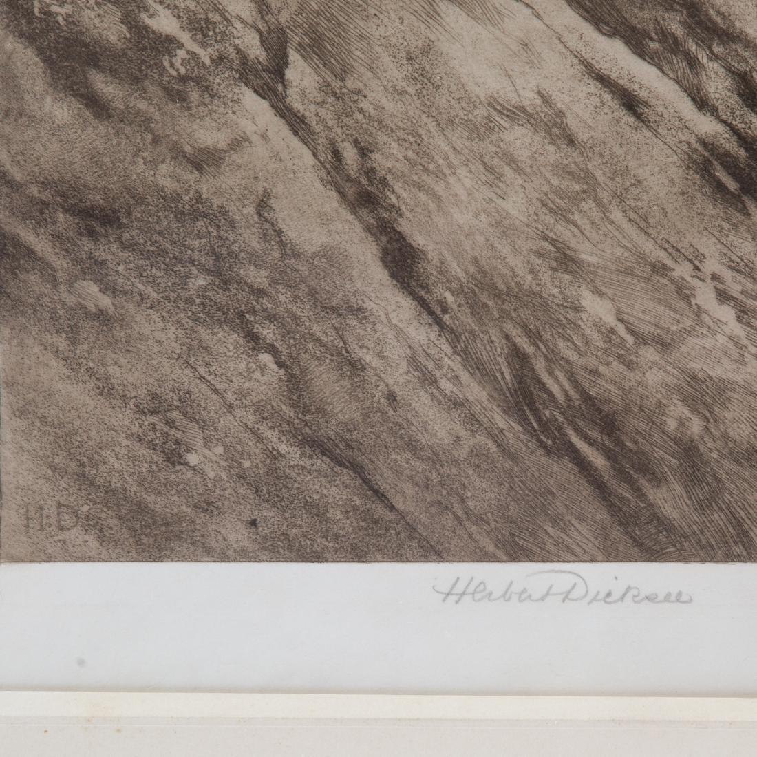 Herbert Thomas Dicksee. Two framed etchings - 8