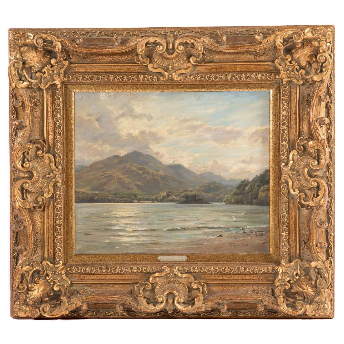 Robert Payton Reid. Landscape with Lake, oil