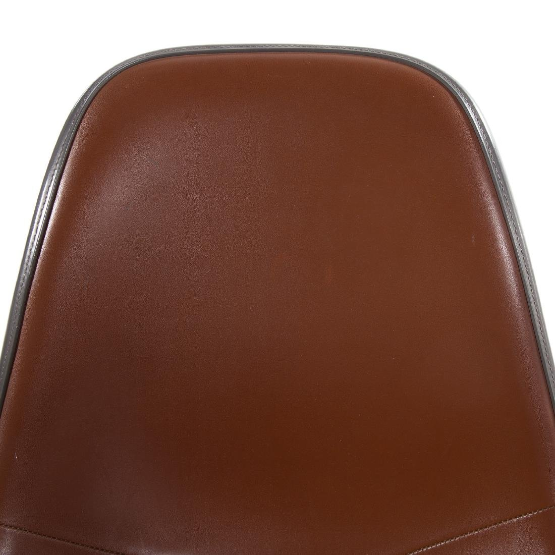 Pair Eames Herman Miller style Eiffel base chairs - 2