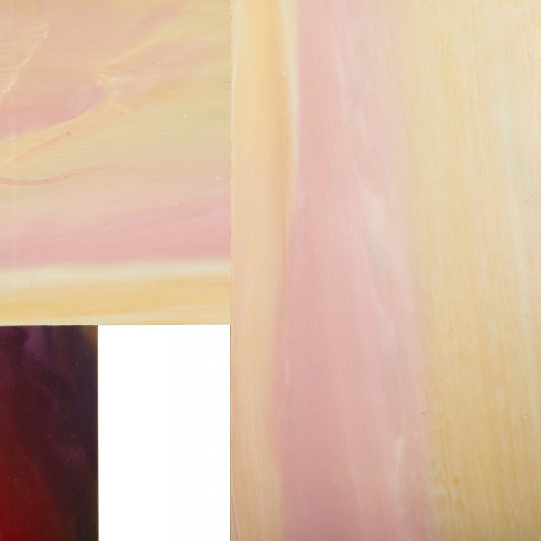 "Sam Gilliam. ""Two Stakes #5,"" acrylic on birch - 2"