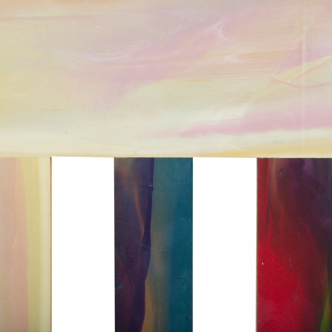 "Sam Gilliam. ""Two Stakes #5,"" acrylic on birch - 3"