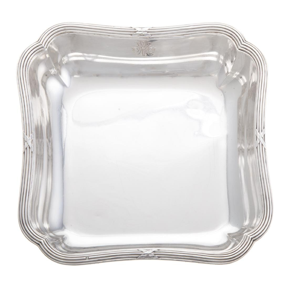 French silver dish - 2