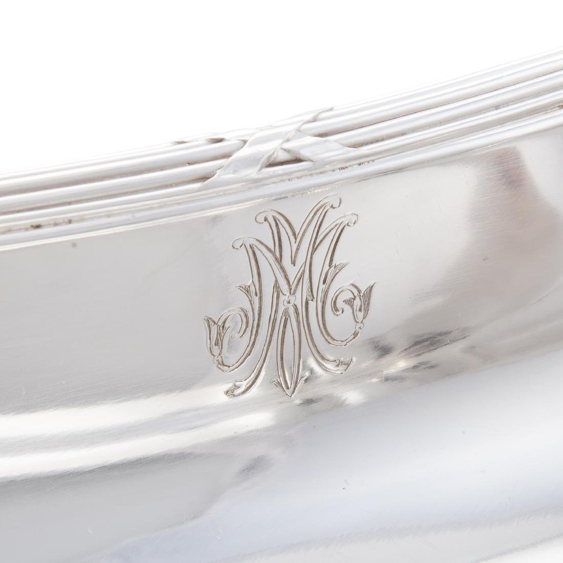 French silver dish - 4
