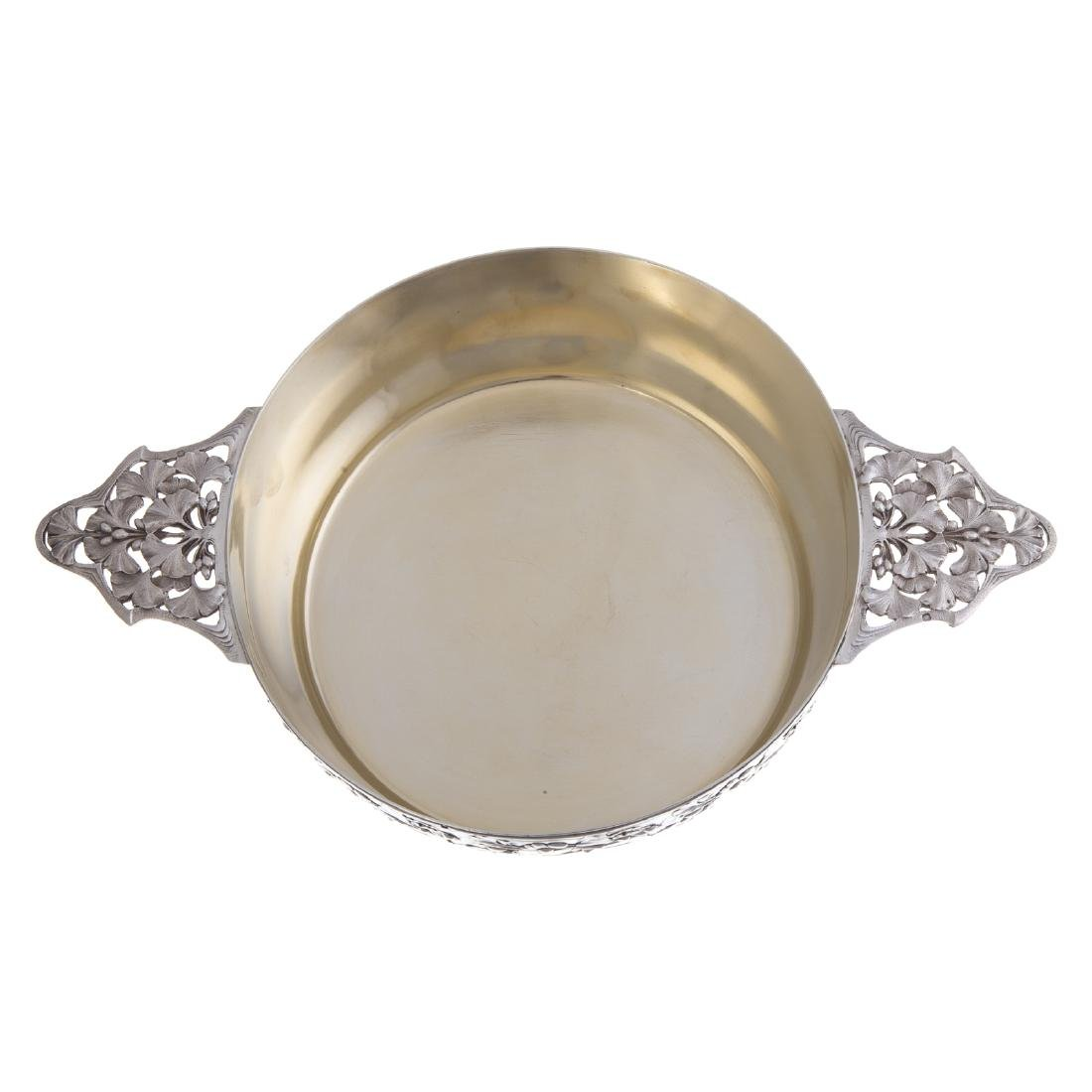 French silver serving bowl - 2