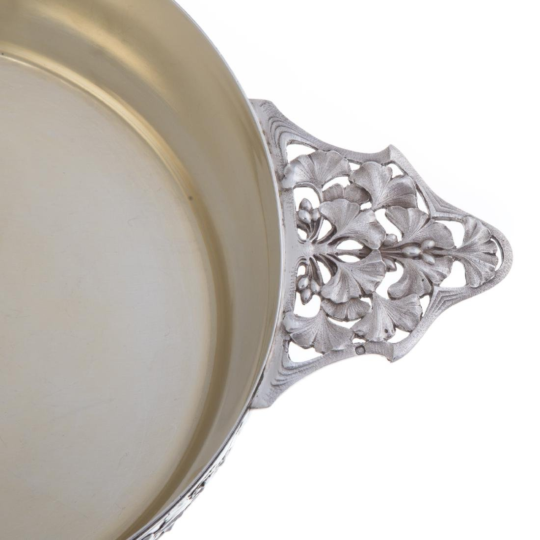 French silver serving bowl - 3
