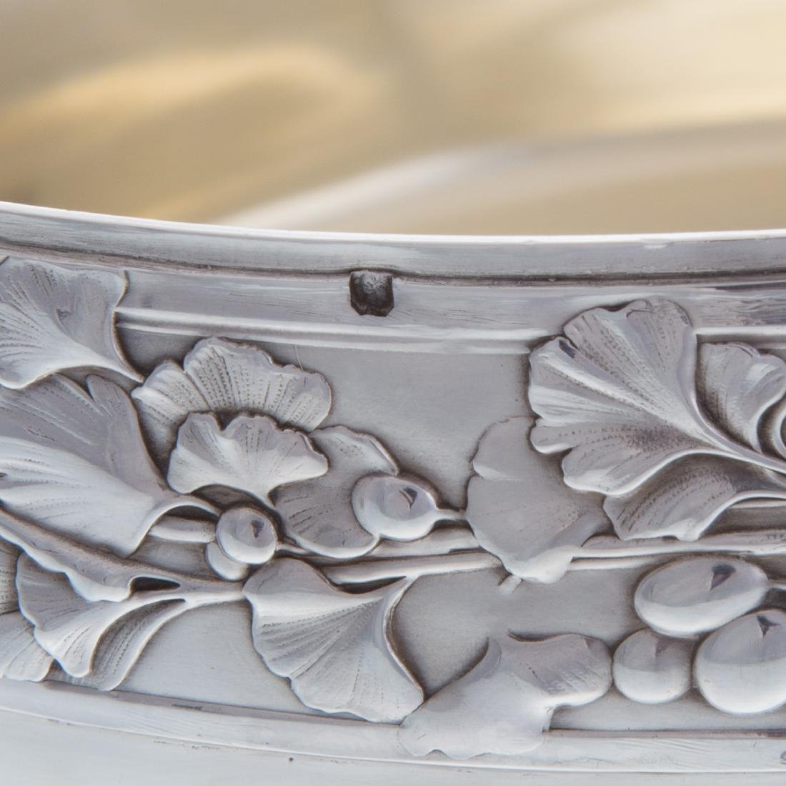 French silver serving bowl - 5