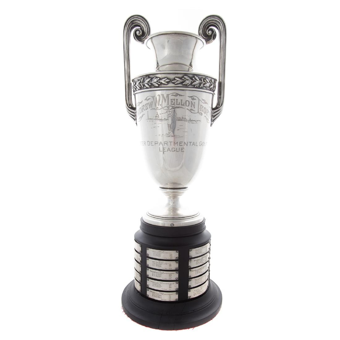 Andrew W. Mellon sterling trophy cup