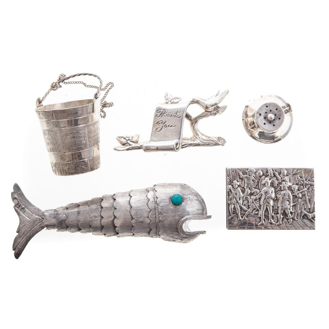 American & Continental silver objets de vertu