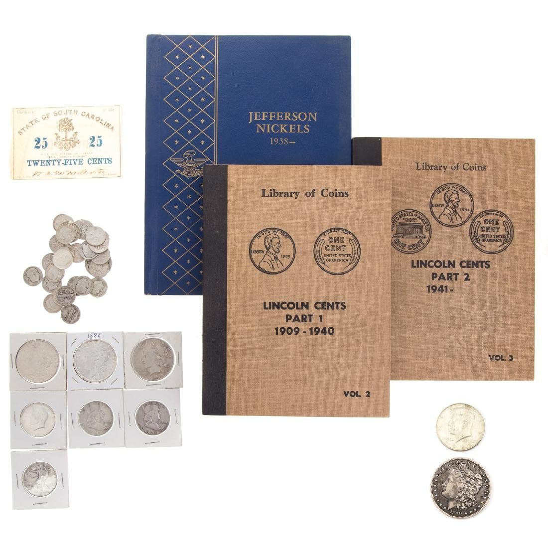 Interesting Coin Collection, inc. 4 Silver Dollars