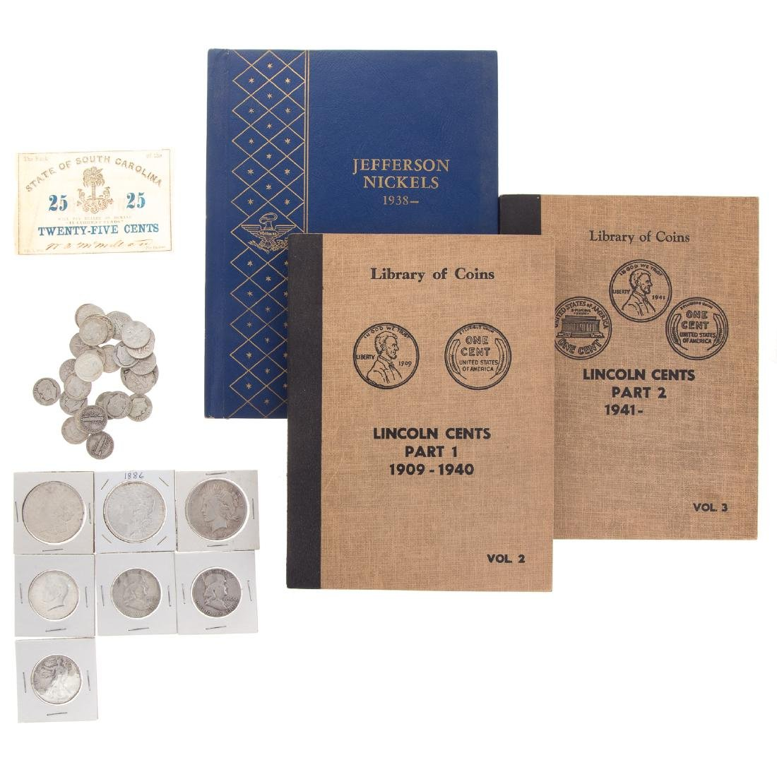 Interesting Coin Collection, inc. 4 Silver Dollars - 2